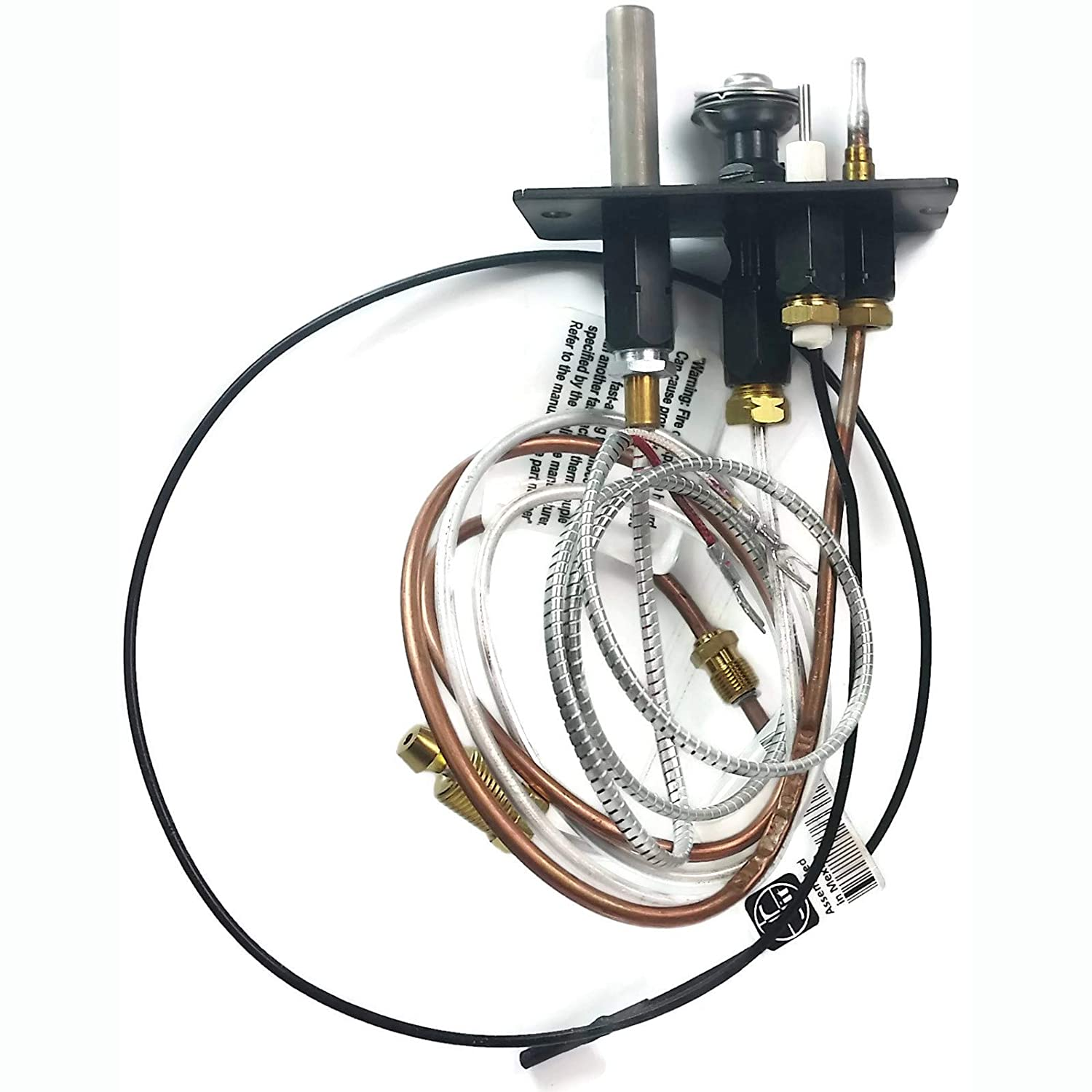 OEM Majestic 10002265 Replacement Propane Gas 3 Way Pilot Assembly for B-Vent and Direct Vent Fireplaces with RP Valves