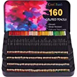 160 Professional Colored Pencils, Artist Pencils Set for Coloring Books, Premium Artist Soft Series Lead with Vibrant…