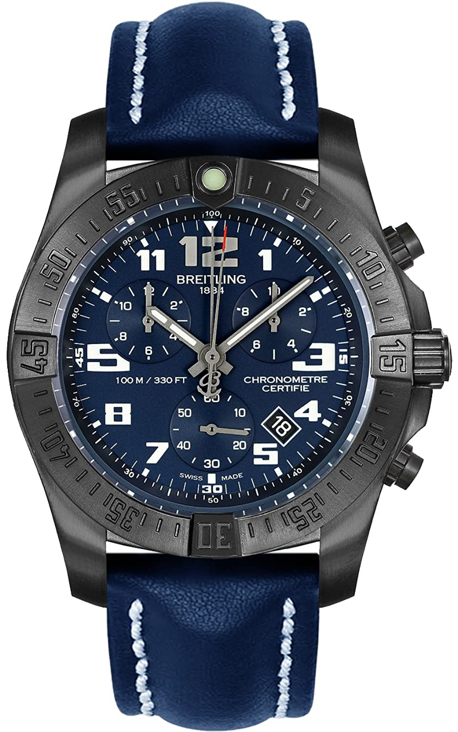 Breitling Chronospace Evo Night Mission Mens Watch B07785W4JB
