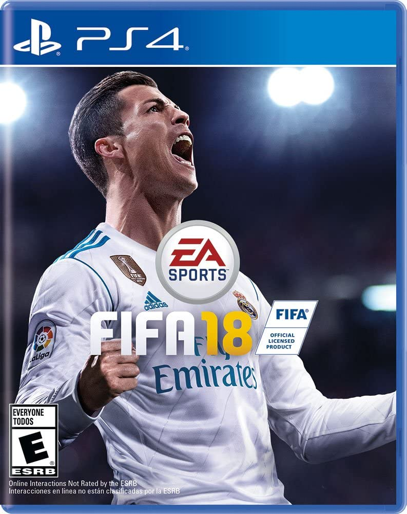 Amazon.com  FIFA 18 Standard Edition - PlayStation 4  Video Games de62c99de
