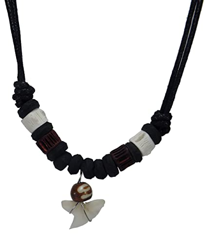 Amazon real shark tooth necklace handmade necklace surfer real shark tooth necklace handmade necklace surfer necklace unisex shark jewelry necklace mozeypictures Image collections