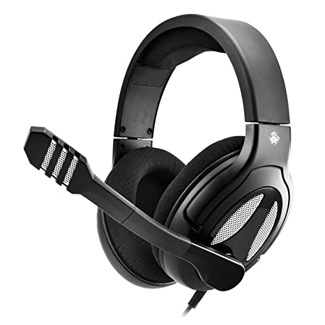 ee5027a37e4 ALTEAM Wired Headset 53mm Driver 3.5mm Gaming Headphone with Microphone,  Surround Stereo Sound,