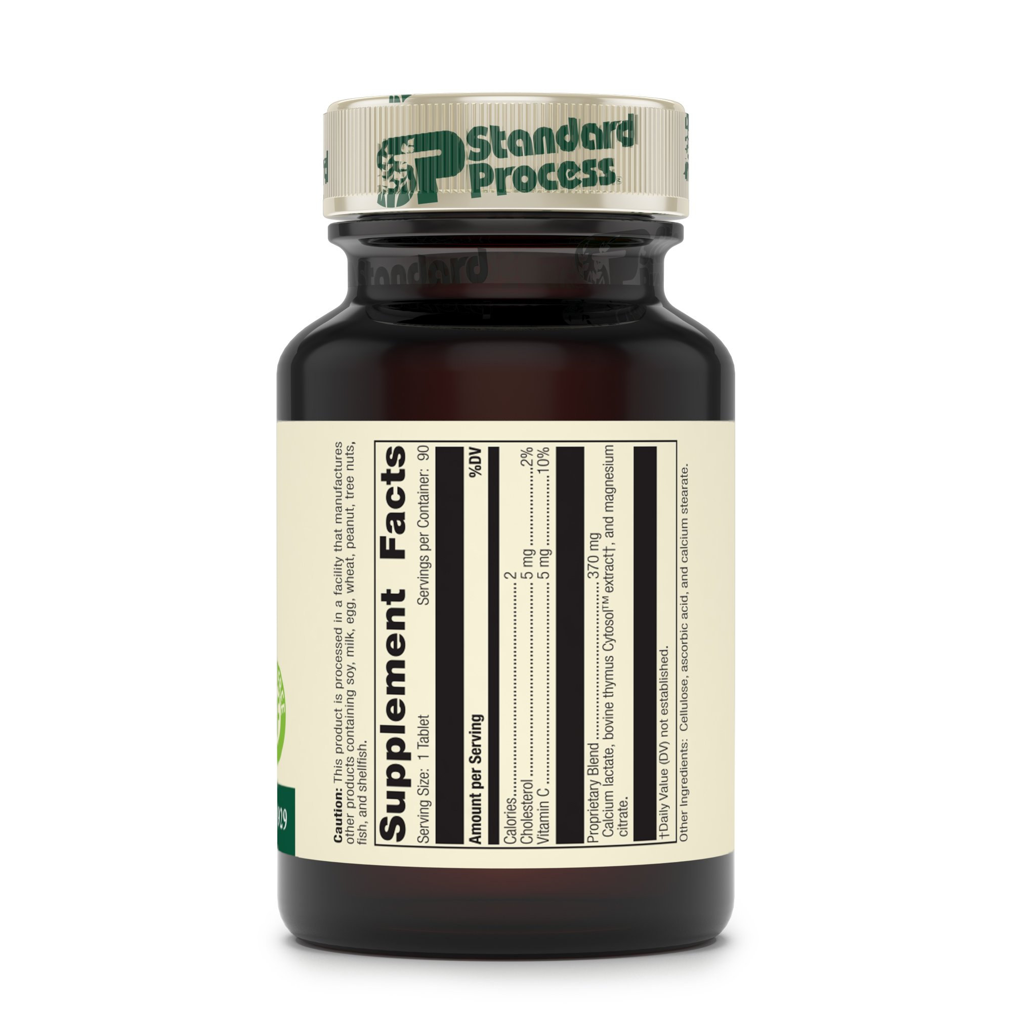 Standard Process - Thymex - Thymus Gland Support Supplement, Supports Immune System Health, Provides Antioxidant Vitamin C, Gluten Free - 90 Tablets by Standard Process (Image #3)