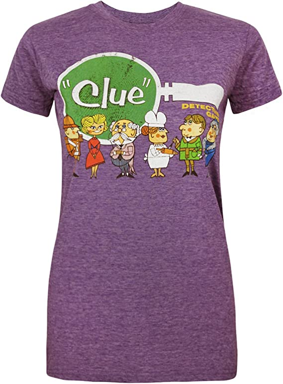 Goodie Two Sleeves Cluedo Line-Up Womens T-Shirt: Amazon.es: Ropa y accesorios