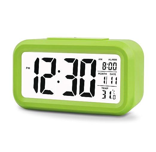 26 opinioni per Konigswerk- Orologio digitale LCD con allarme da 5,3 pollici, elegante, semplice