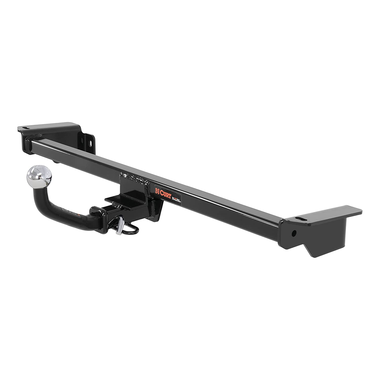 CURT 110553 Class 1 Trailer Hitch with Ball Mount 1-1//4-Inch Receiver  for Select Ford Fiesta