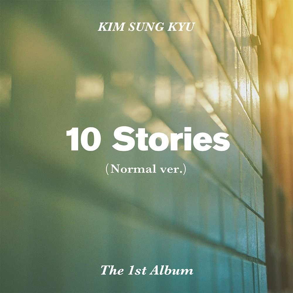 Amazon Com Kim Sung Kyu Infinite 10 Stories Vol 1 Normal Ver Cd Postcard Photocard Folded Poster Free Gift Home Kitchen