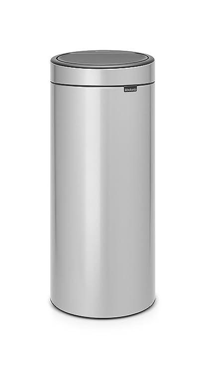 Brabantia 30 Liter Touch Bin.Brabantia Touch Bin New 30 Litre Metallic Grey