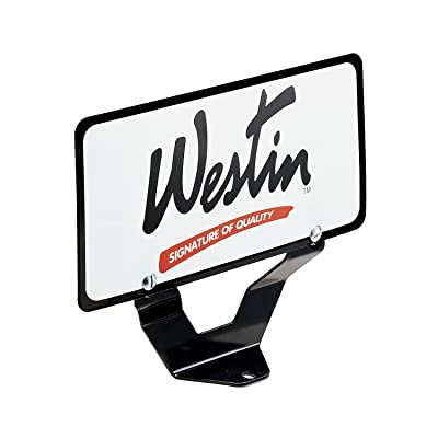 Westin 32-0055 License Plate Relocator for Bull Bar: Automotive