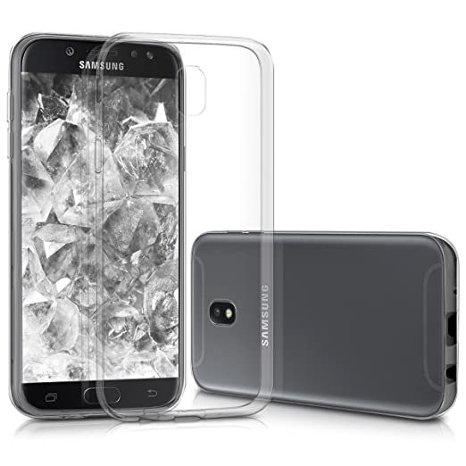 kwmobile Samsung Galaxy J5 (2017) DUOS Hülle - Handyhülle für Samsung Galaxy J5 (2017) DUOS - Handy Case in Transparent