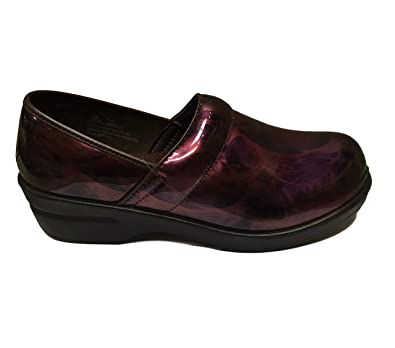 Ingaro Jane Burgundy Jane Closed Toe Clog Shoe Womens 8.5 M Women's Shoes