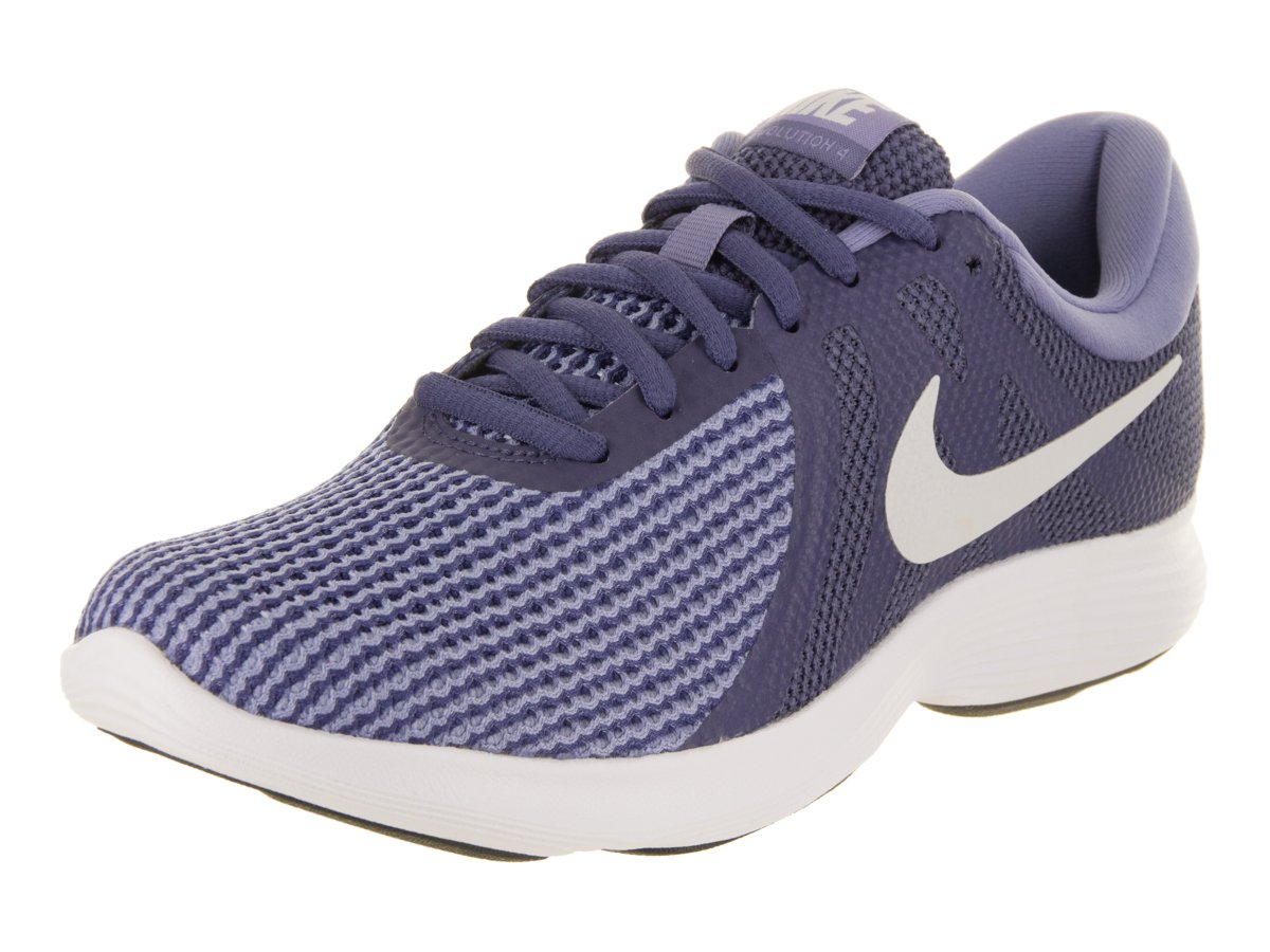 NIKE Women's Revolution 4 Wide Running Shoe B06XKJC7GV 8 M US|Blue Recall/Pure Platinum