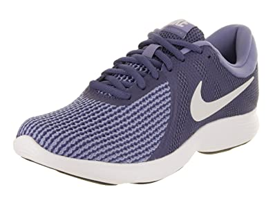 new york 92cab d0e59 Nike Women s Revolution 4 Running Shoe Blue Recall Pure Platinum Purple  Slate Size 6.5
