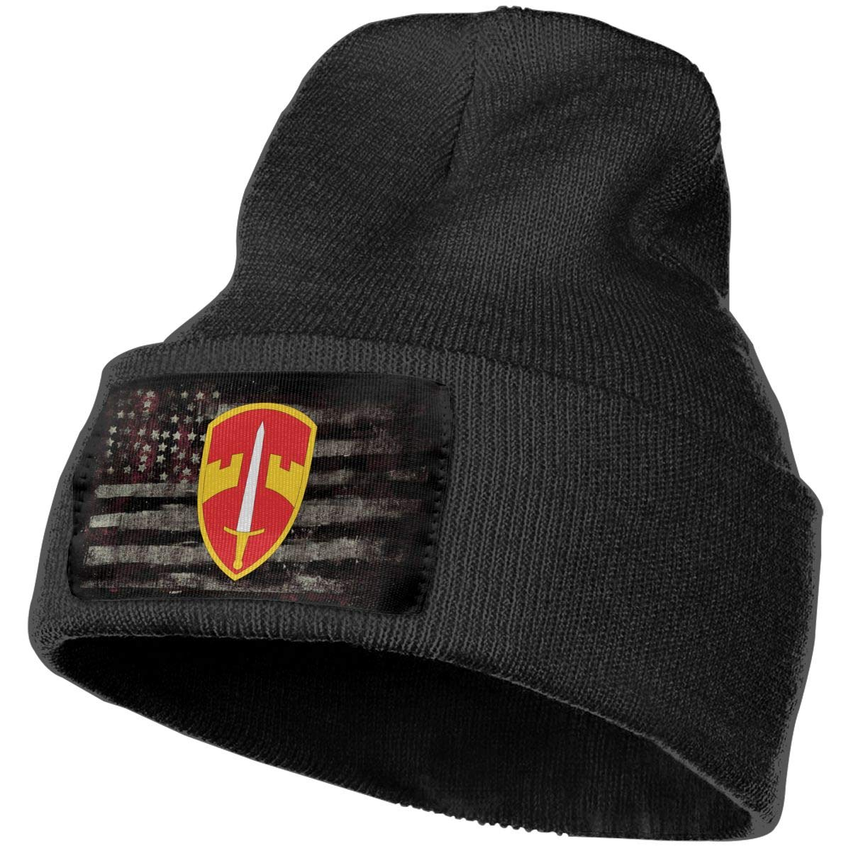 MACV Military Assistance Command Vietnam Mens Beanie Cap Skull Cap Winter Warm Knitting Hats.