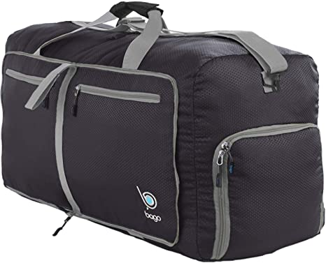 "94dcc2047 Bago 80L Duffle Bag for Women & Men - 27"" Travel Bag Large Foldable  Duffel"