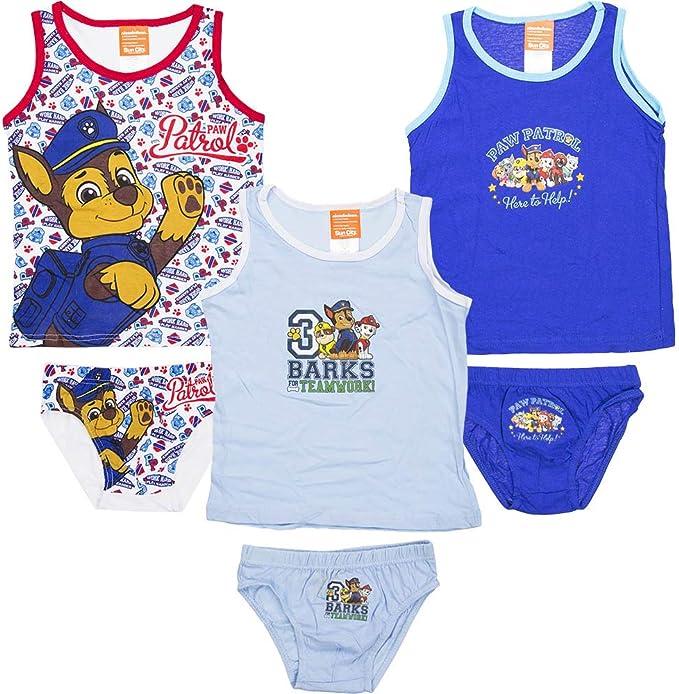 Pack de 6 Unidades de Ropa Interior para niño + Slips Multicolor 116-122 cm: Amazon.es: Ropa y accesorios
