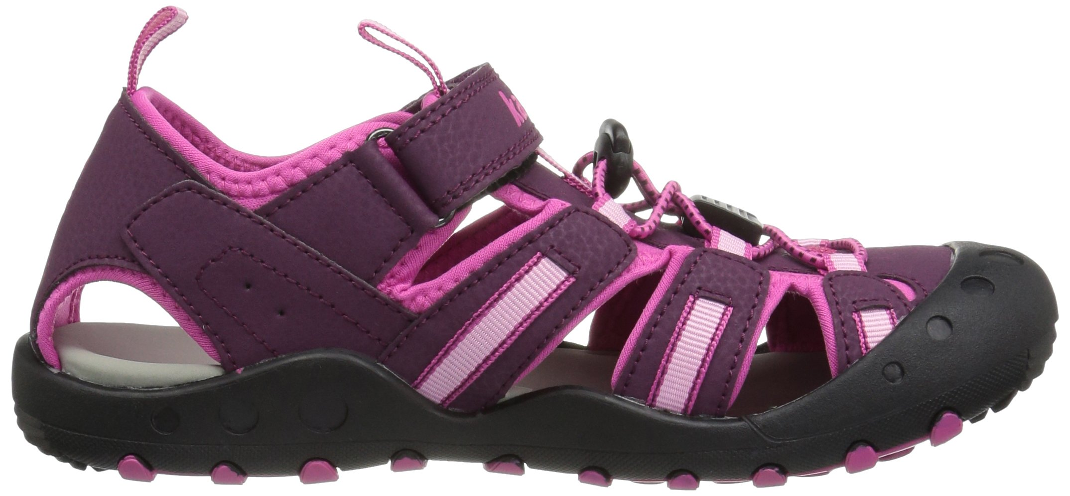 Kamik Toddler Crab Sandals Plum 4 by Kamik (Image #6)