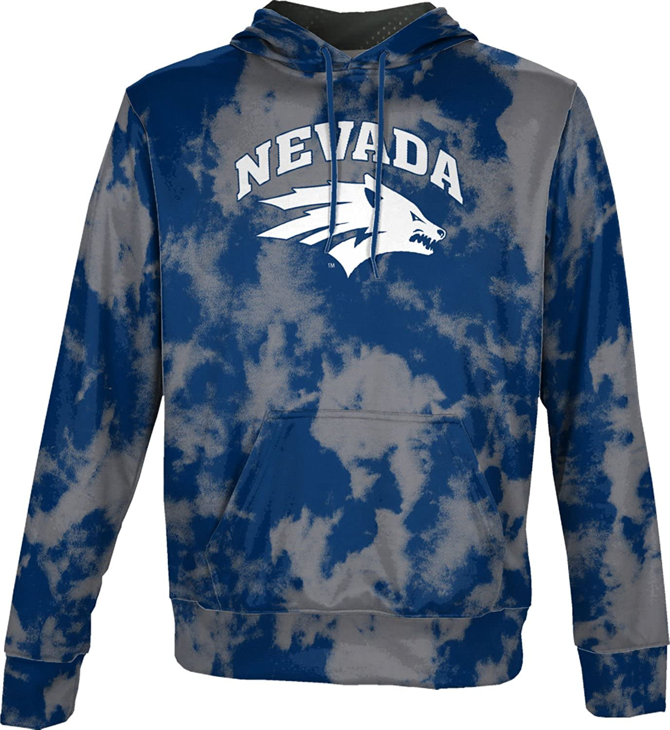 School Spirit Sweatshirt ProSphere University of Nevada Mens Pullover Hoodie Grunge