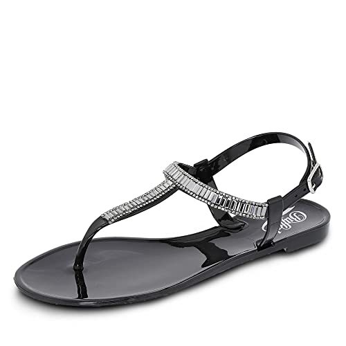 Buffalo Shoes C404A-1 P1735A PU, Escarpins Femme, Noir (Black 01), 36 EUBuffalo David Bitton