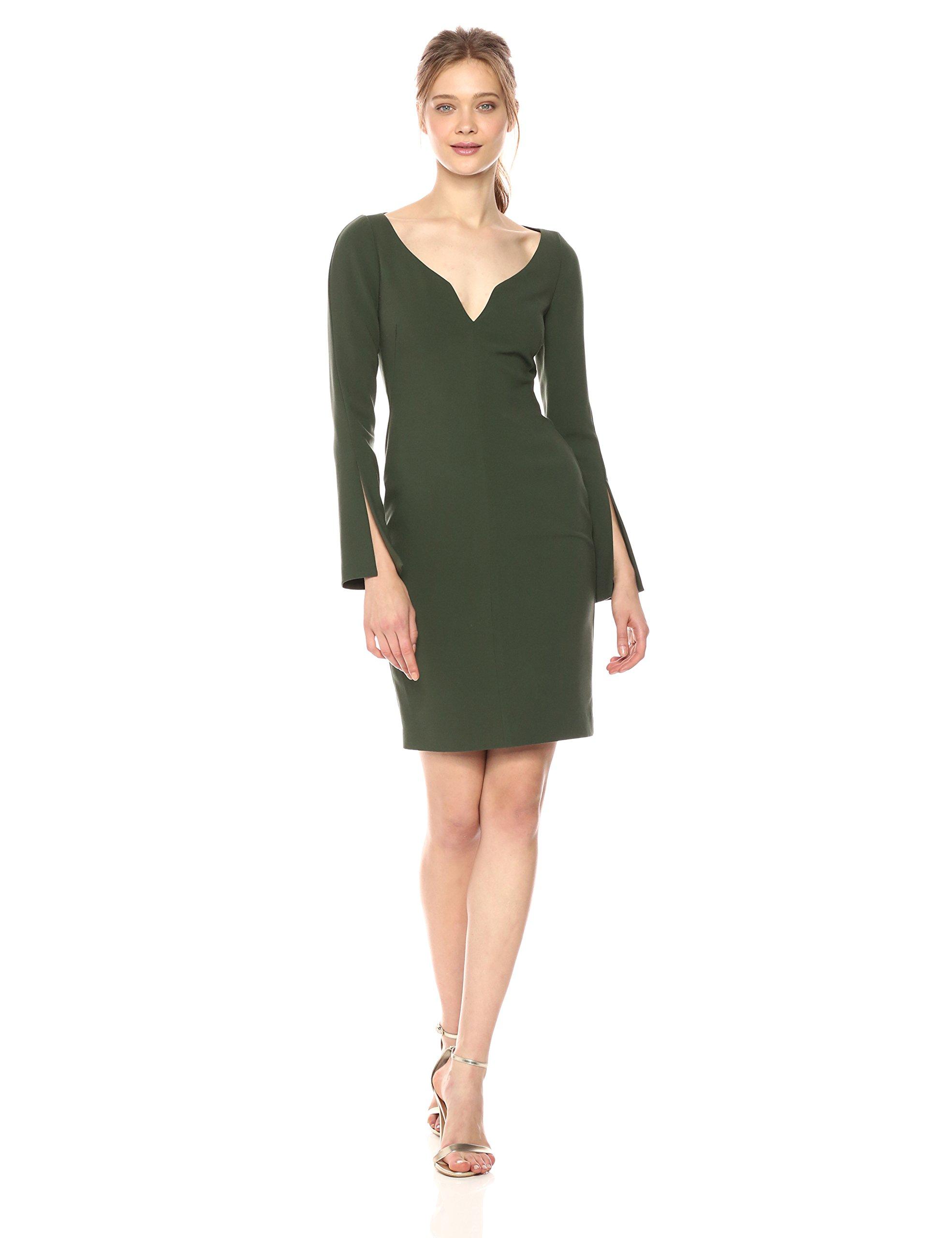 Black Halo Women's Maxwell Sheath Dress, Rainforest, 4