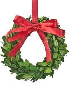Exposures Boxwood Ornament Wreath