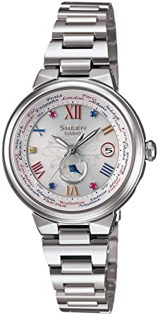 41a586374d Amazon   [カシオ]CASIO 腕時計 SHEEN Voyage Series ~Limited Edition ...