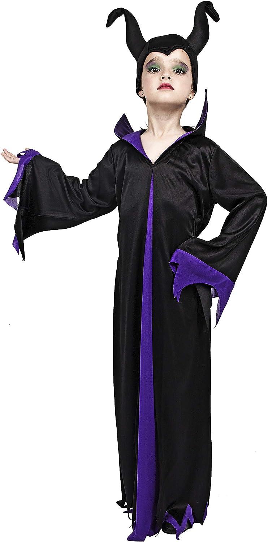 Costumizate! Disfraz de Malefica Talla 1-3 Especial para niños ...