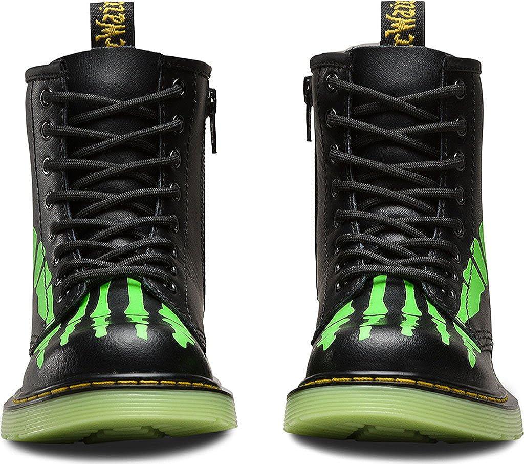 8b711b24dea3 Dr. Martens Unisex Kids' Delaney Glow Brogues, Black (Nero), 1 UK:  Amazon.co.uk: Shoes & Bags
