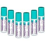Moiststic SPF 15 Natural  Lip Balm, Net Wt .15 Oz. (Pack of 6)