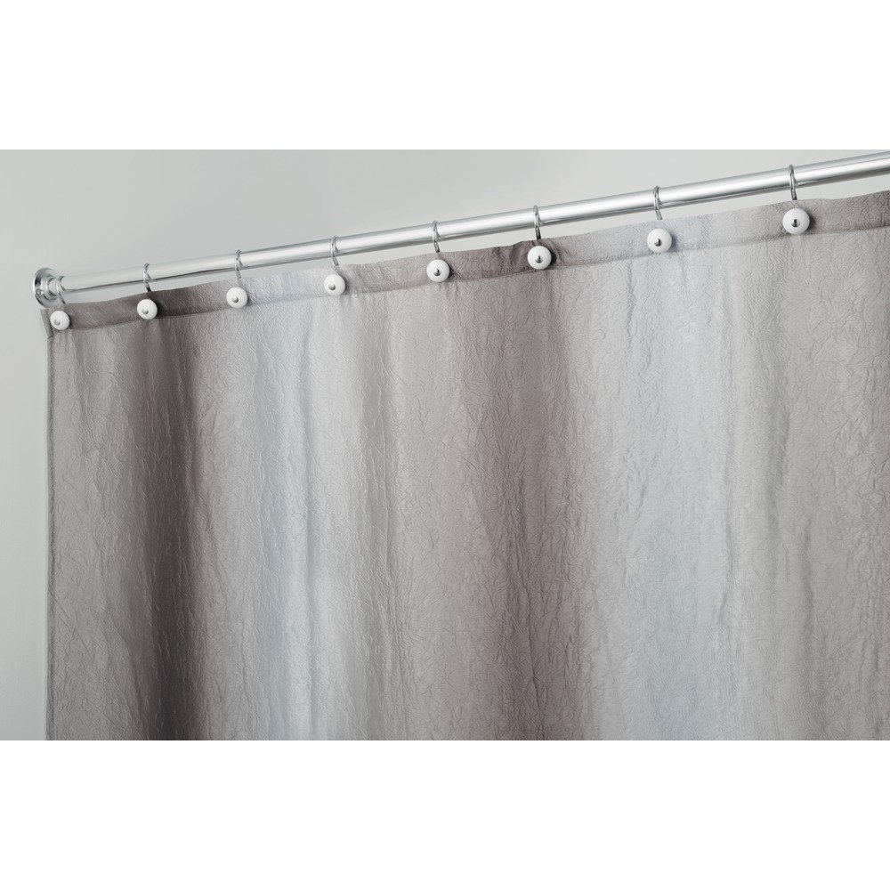 Amazoncom InterDesign Ombre Fabric Shower Curtain  X - Beige and gray shower curtain