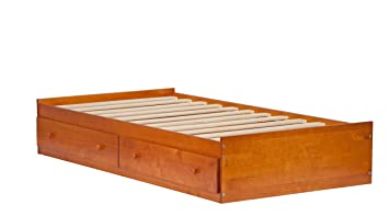 100 solid wood kansas twin mates platform storage bed by palace imports bed only