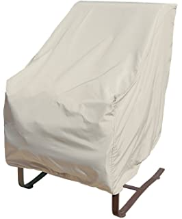 Treasure Garden High Back Chair With Elastic   Protective Furniture Covers