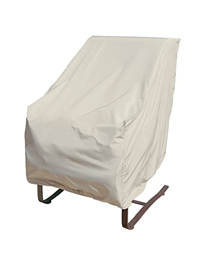 Treasure Garden High Back Chair with Elastic - Protective Furniture Covers