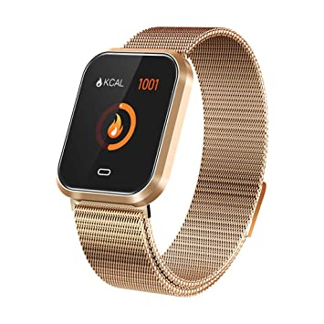 Fcostume - Smartwatch para fitness, frecuencia cardíaca ...
