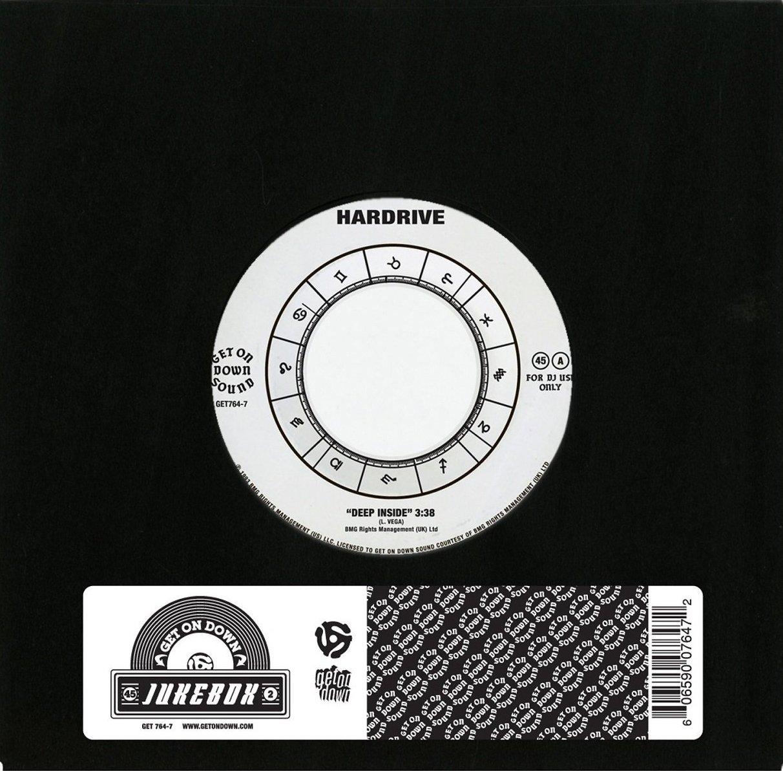 Vinilo : Hardrive - Deep Inside (7 Inch Single)