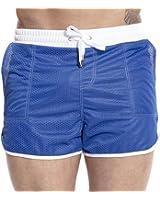 DESMIIT Men's Mesh Pocket Short