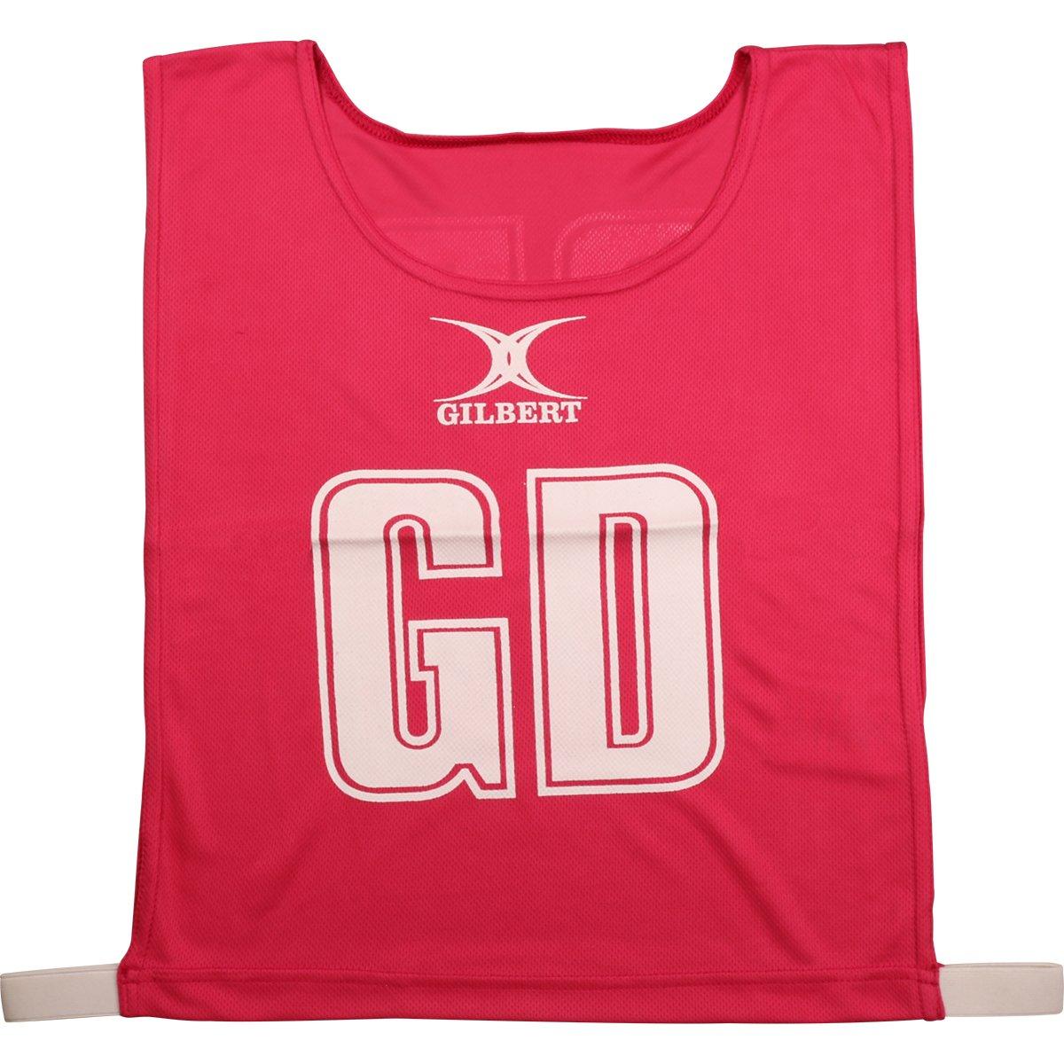 Classic Netball Bibs Set of 7 - Pink Gilbert