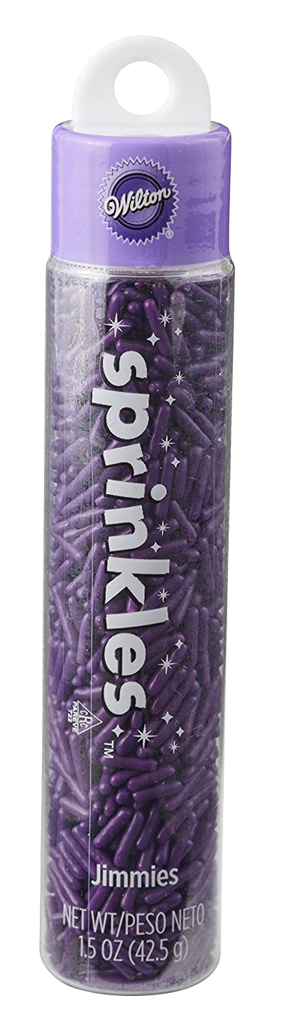 Wilton 710-9966 Hanging Skinny Purple Jimmies