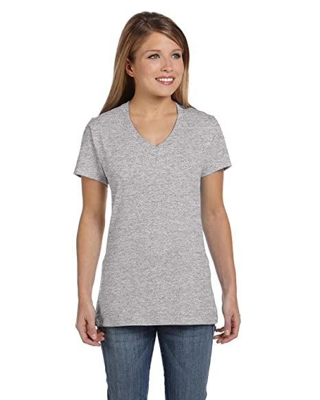 1e890d59a3 Image Unavailable. Image not available for. Color  Hanes S04V Hanes Women s  Nano-T ...