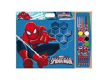 Spiderman Set Para Colorear 40 Hojas Da Color 1 Hoja Con