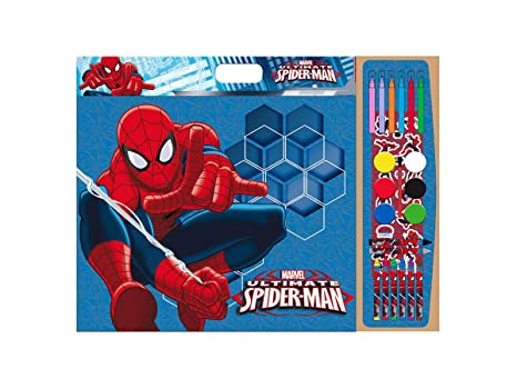 Spiderman Set Per Colorare 40 Fogli Da Colorare 1 Foglio Con