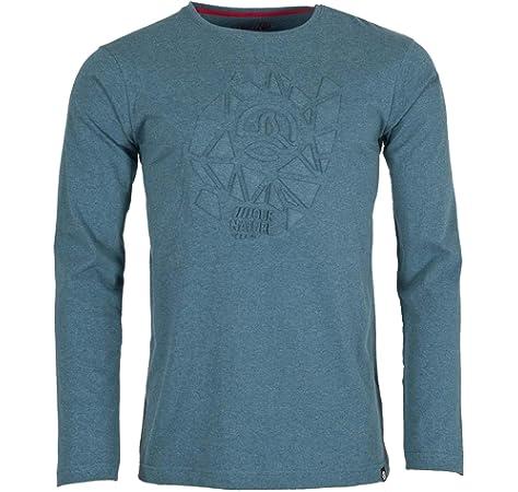 Ternua Gohana Shirt M Camiseta de Manga Larga, Hombre, Gris (Mousse Grey): Amazon.es: Deportes y aire libre
