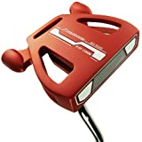 """Ray Cook Golf Limited Edition Silver SR500 Putter, Red, 35"""""""