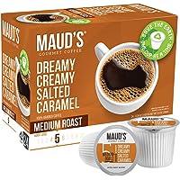 Maud's Salted Caramel Coffee (Dreamy Creamy Caramel), 24ct. Solar Energy Produced Recyclable Single Serve Salted Caramel…