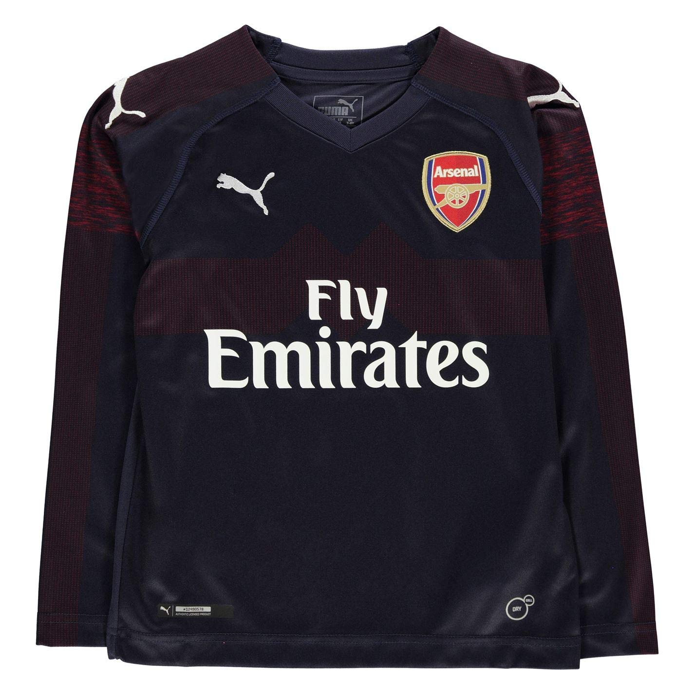 Puma 2018-2019 Arsenal Away Long Sleeve Shirt (Kids)