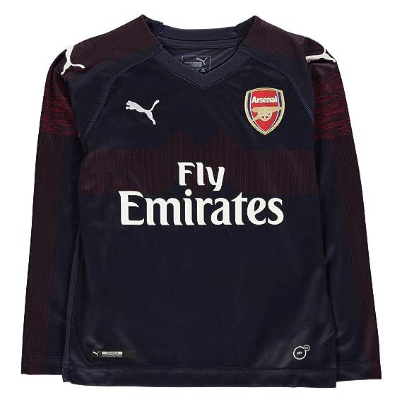 a1886081360 Puma Boys Arsenal Away Shirt 2018 2019  Amazon.co.uk  Clothing