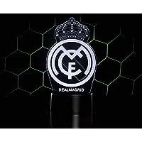 3D LAMPARAS Oficial Escudo del Real Madrid CF