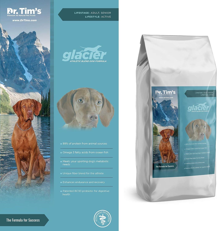 Dr. Tim's Athletic Dog Glacier Premium Dry Dog Food, 40 lb. Bag