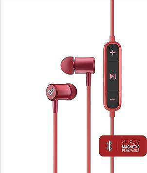 Energy Sistem Earphones BT Urban 2 Rojo (auriculares inalambricos, Bluetooth, Magnetic Switch, In-Ear, Control Talk): Amazon.es: Electrónica