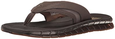 Boster, Tongs Hommes, Multicolore (Charcoal/Blue), 40 EUReef